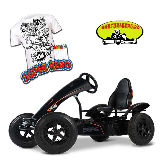 Kart BERG Black Edition BFR + Cadou Tricou Splat Planet