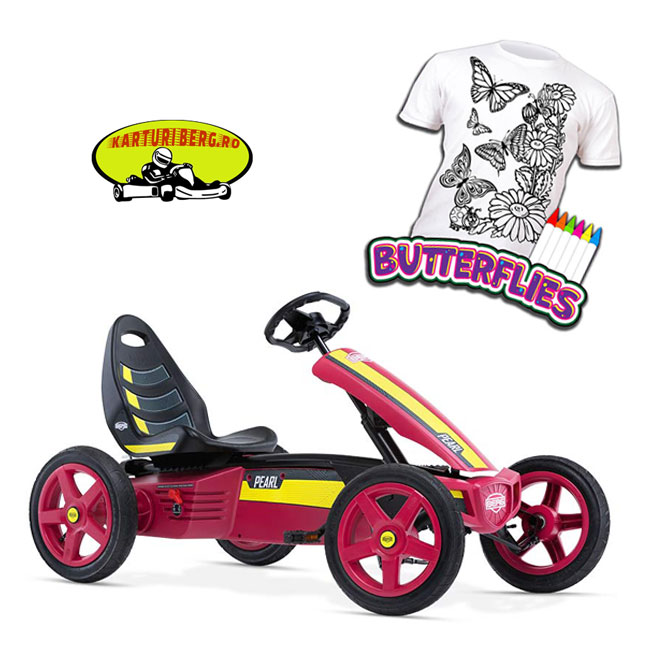 Kart BERG Rally Pearl + Cadou Tricou Splat Planet