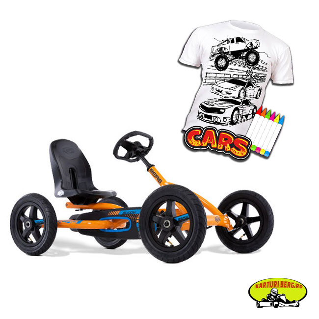 Kart Berg Buddy B Orange + Cadou Tricou Splat Planet