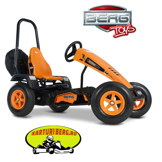 Kart Berg X-Cross BFR + Roll bar + Cadou Tricou Splat Planet
