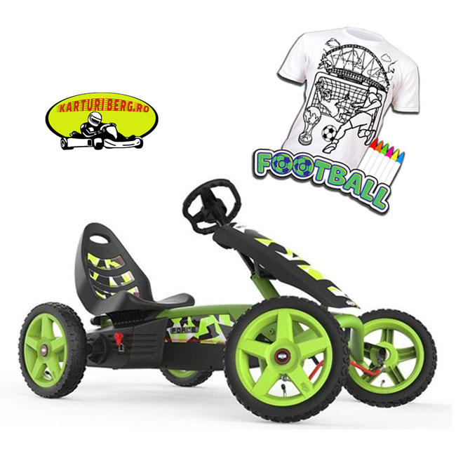 Kart cu pedale Berg Rally Force + Cadou Tricou Splat Planet